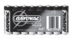 BATTERY ALKALINE AA- 8 PACK
