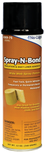 ADHESIVE,SPRAY-N-BOND 12 OZ AEROSOL (M6)