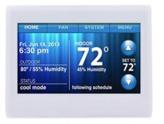 WI-FI 9000 COLOR TOUCHSCREEN THERMOSTAT.