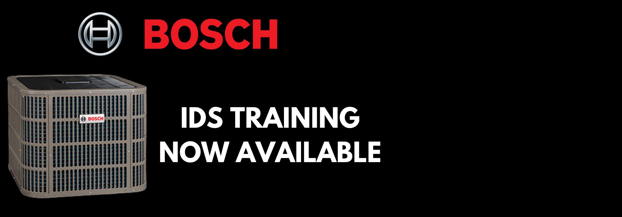 Bosch IDS Heat Pump Training